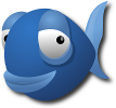 Bluefish HTML editor logo