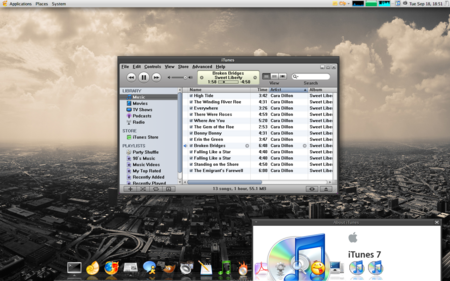itunes in linux