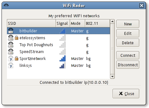 wifi radar screen