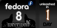 fedora 8 werewolf releases tomorrow
