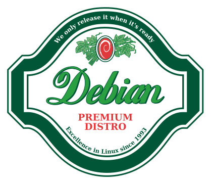 Debian - we only release when it's time.