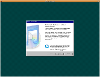 itunes for linux