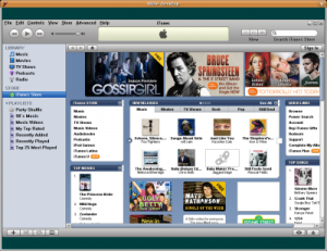 That's it! Now u can use iTunes in Linux as you did it before in