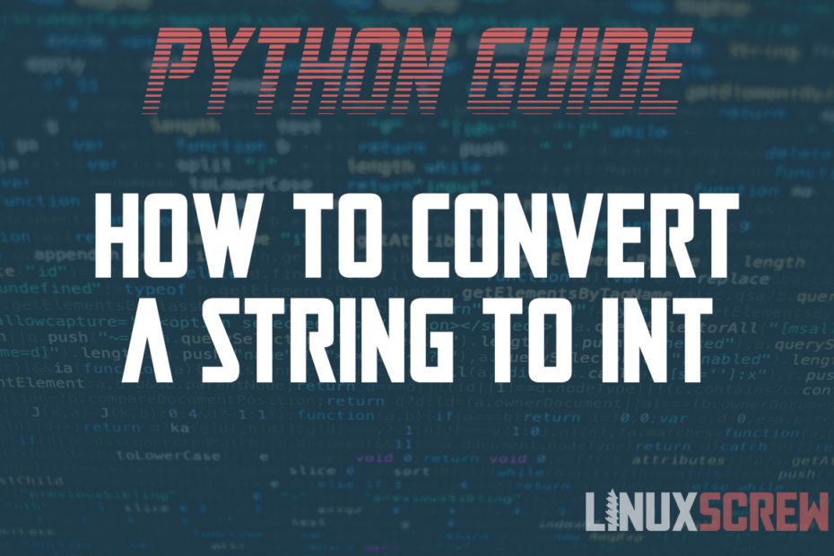 how to convert string int python 1