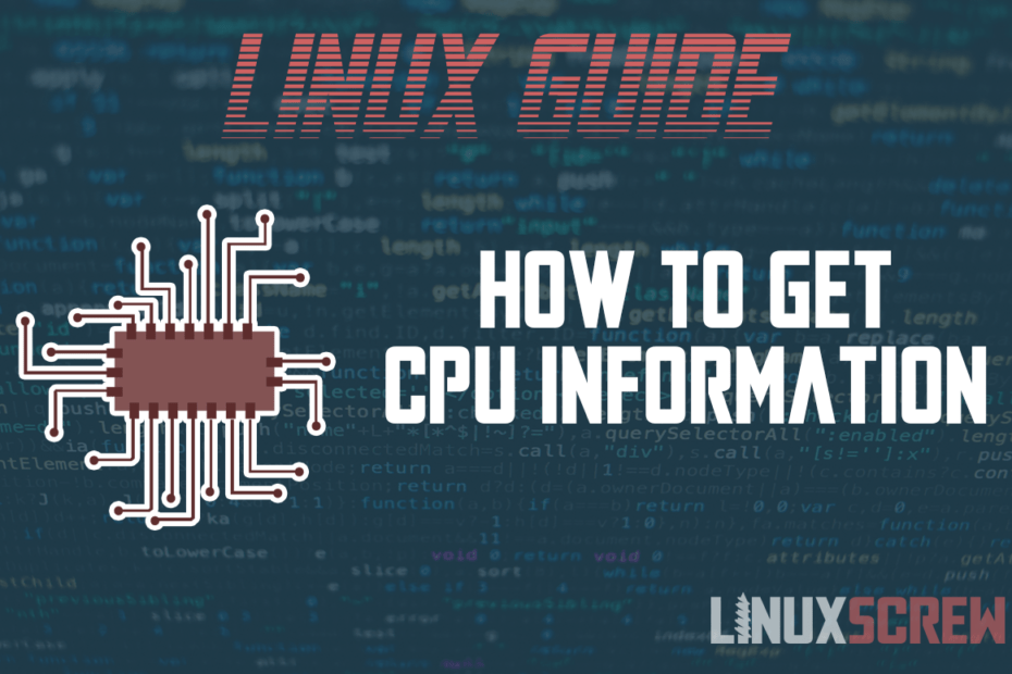 how to get cpu information linux