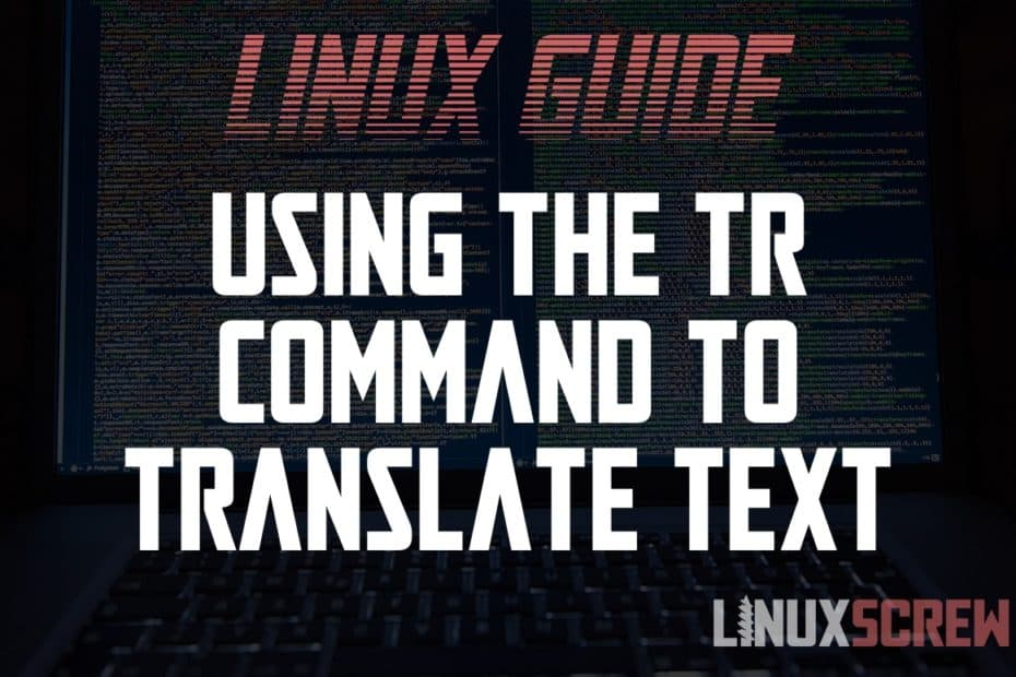 Linux tr Command