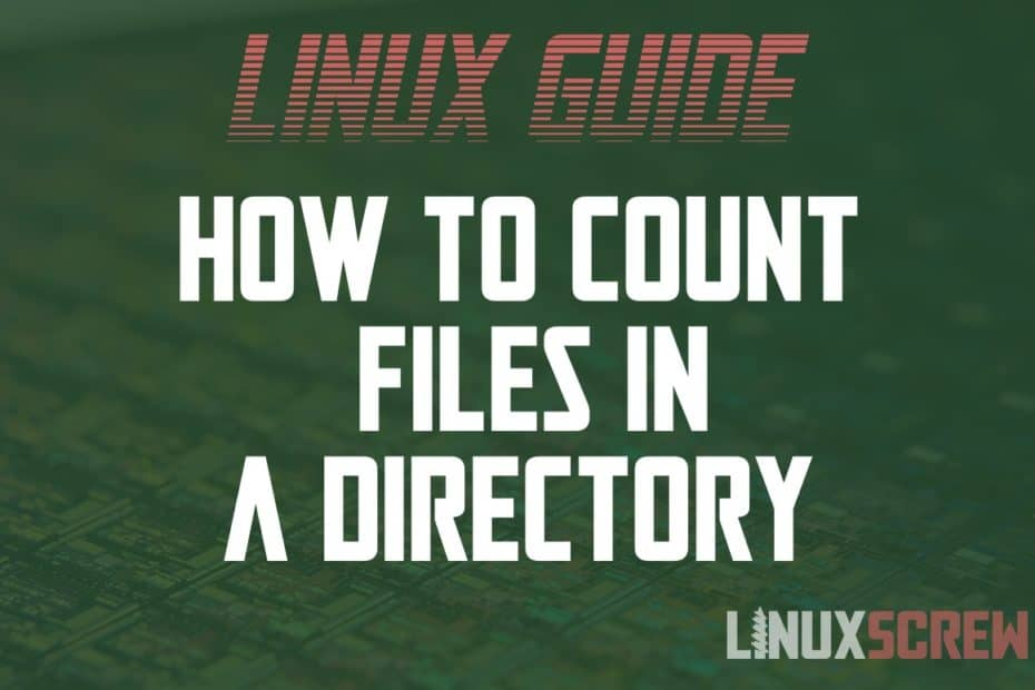 Linux Count Files in Directory