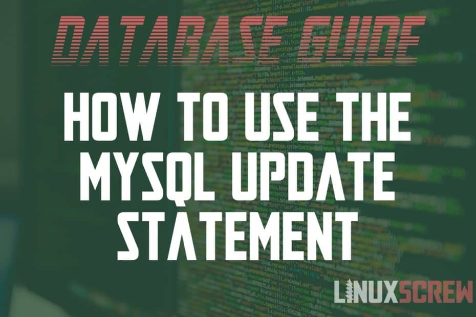 MySQL Update