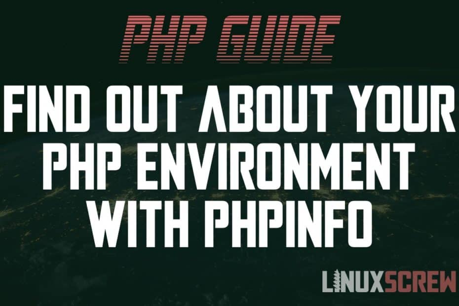 PHP phpinfo()