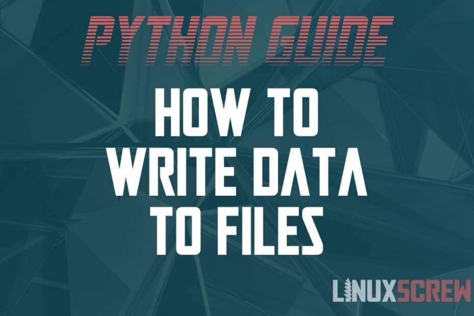 Python Write File
